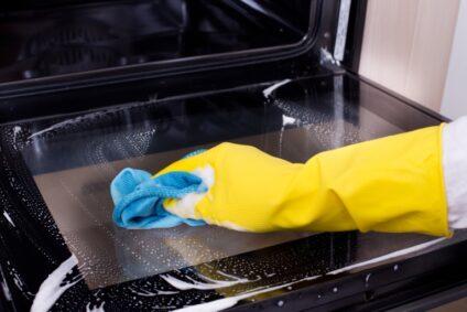Wie schnell kann ich den Ofen nach der Reinigung wieder benutzen?