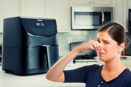 So werden Sie den Kunststoffgeruch der Heißluftfritteuse los
